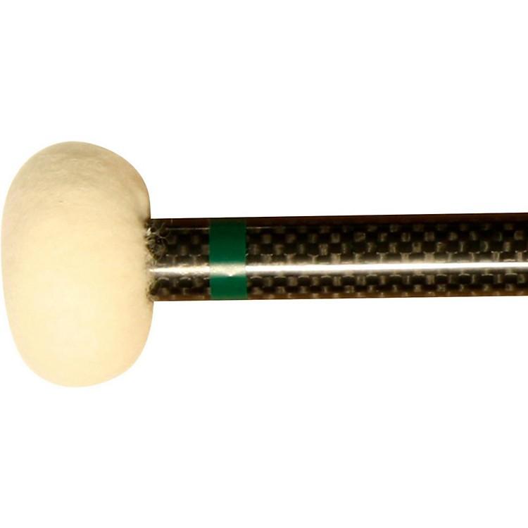 Black Swamp PercussionCF2 Carbon Fiber Timpani Mallets Medium Hard (Green)