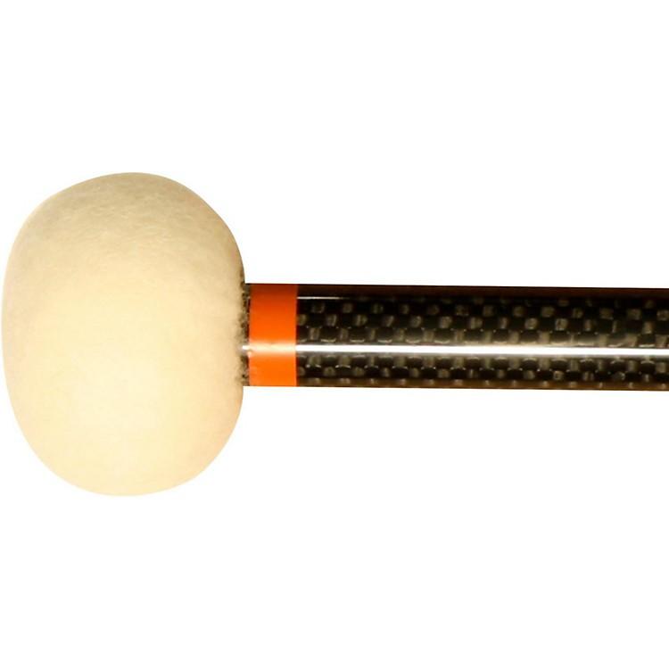 Black Swamp PercussionCF4 Carbon Fiber Timpani Mallets Legato (Orange)