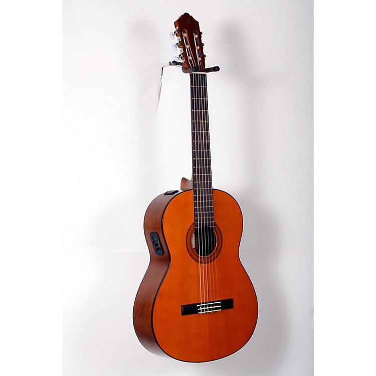 Yamaha CGX102 Acoustic-Electric Classical Guitar Natural 888365894683