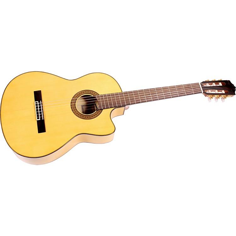 yamaha cgx171sfc flamenco acoustic electric guitar music123. Black Bedroom Furniture Sets. Home Design Ideas