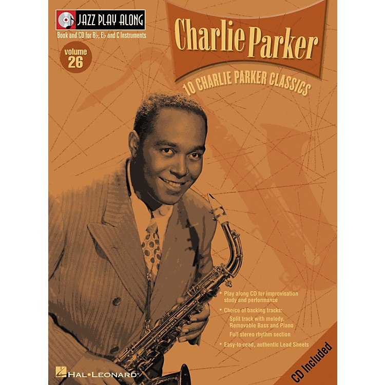 Hal LeonardCHARLIE PARKER - JAZZ PLAY-ALONG VOLUME 26 BK/CD