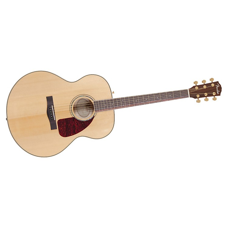 Fender CJ290S Flame Maple Jumbo Acoustic Guitar