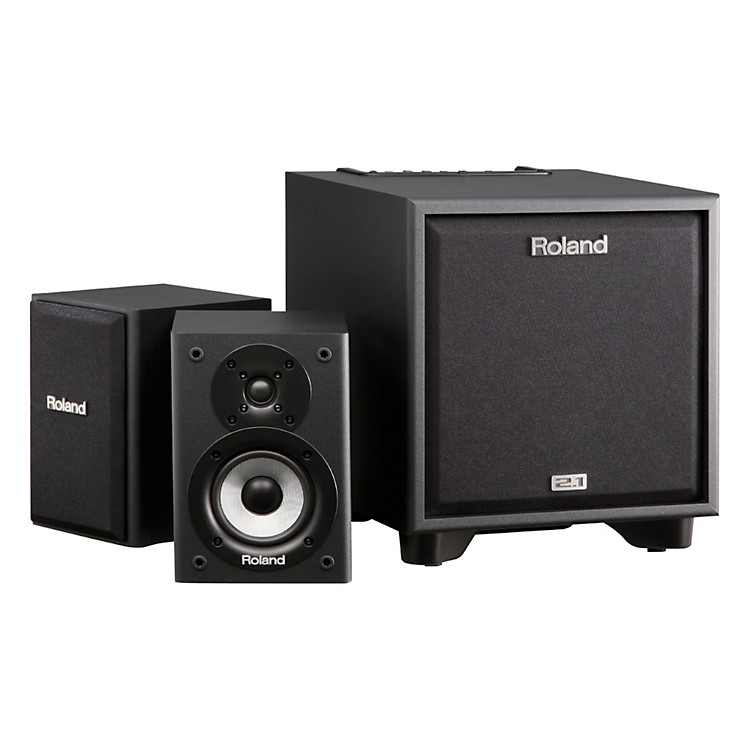 Roland CM-110 2.1 CUBE Monitor System Black