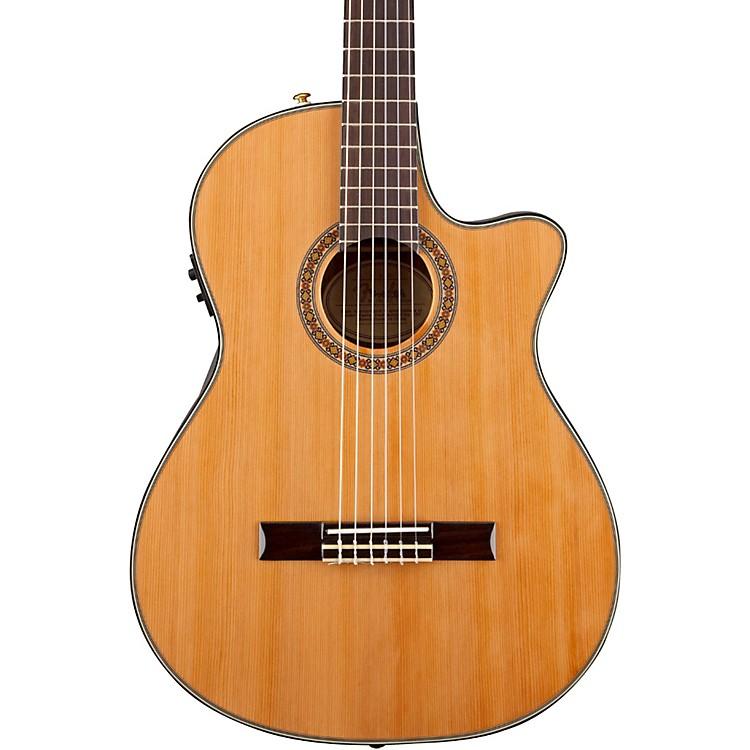 FenderCN-240SCE Thinline Classical Acoustic Electric GuitarNatural