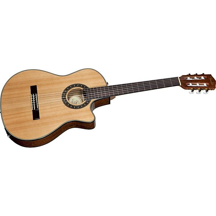 FenderCN 240SCE Thinline Classical Acoustic-Electric Guitar