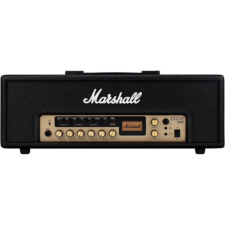 Marshall CODE 100W Guitar Amp Head Black
