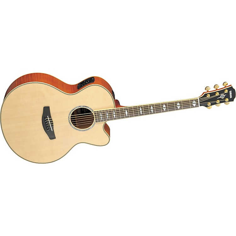 Yamaha CPX1000 Medium-Jumbo Cutaway Acoustic-Electric Guitar Natural