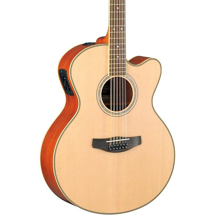 YamahaCPX700II-12 Medium-Jumbo 12-String Cutaway Acoustic-Electric GuitarNatural