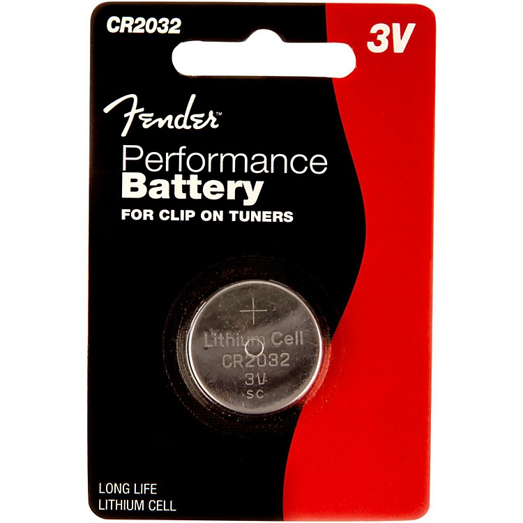 FenderCR2032 3 Volt Button Battery Single