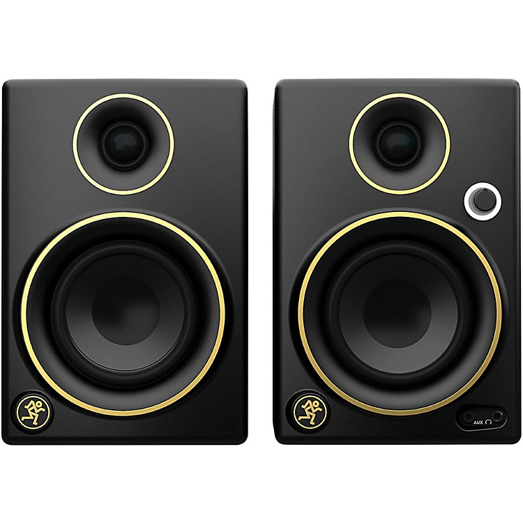 MackieCR3 Limited Edition Gold Trim 3 in. Multimedia Monitors (Pair)