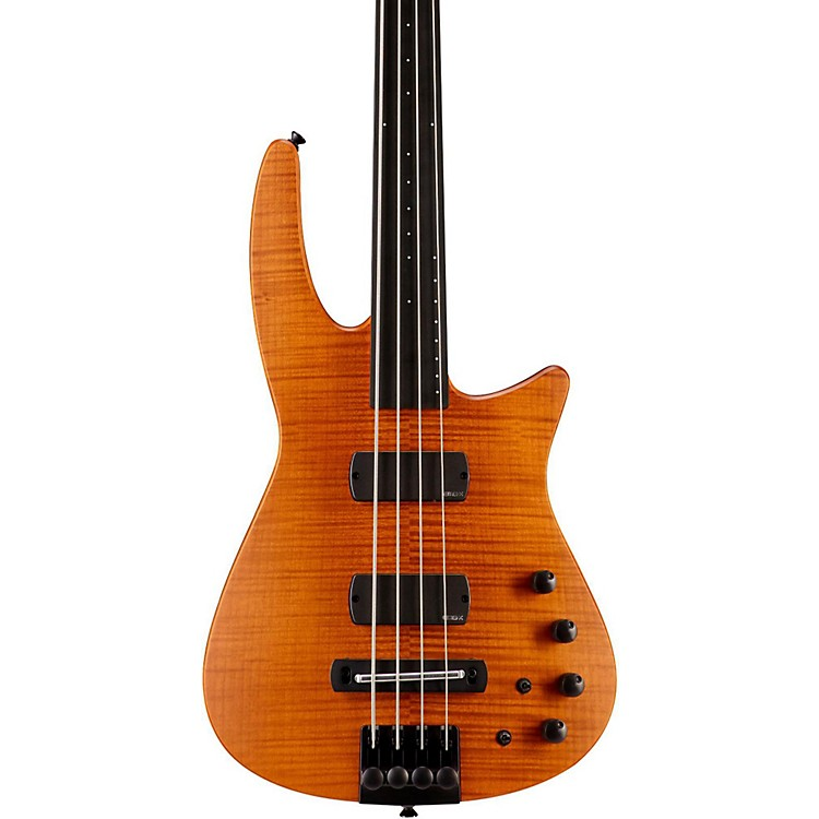 NS DesignCR4 Fretless Electric Bass GuitarSatin Amber