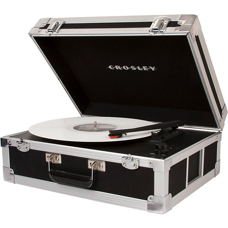 Crosley CR6251A Bound Record Player, Black