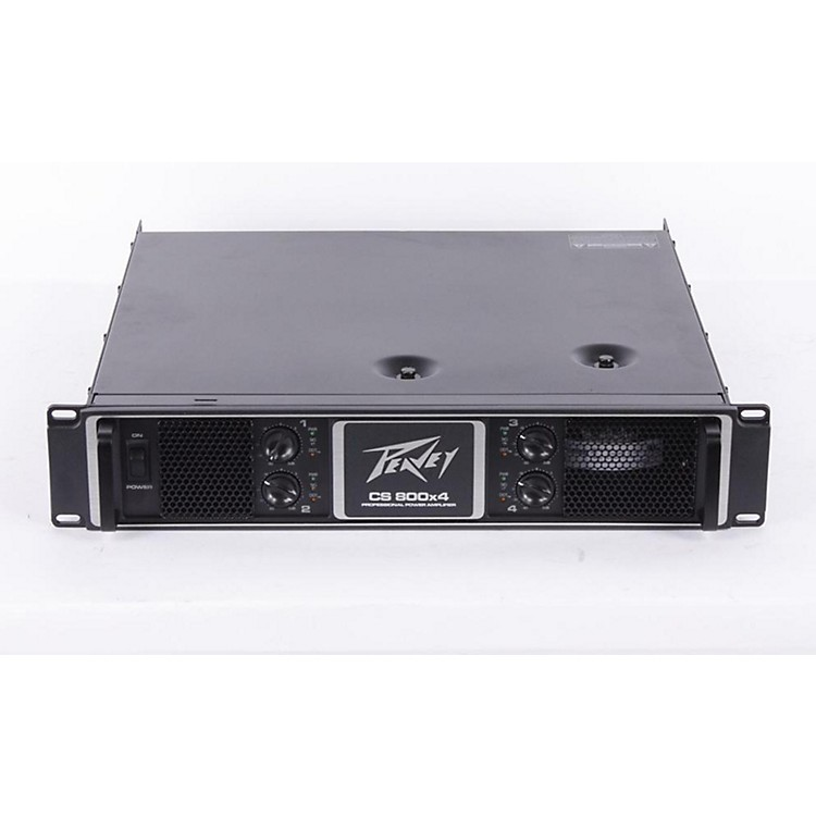 Peavey CS 800X4 Power Amplifier Regular 886830870552