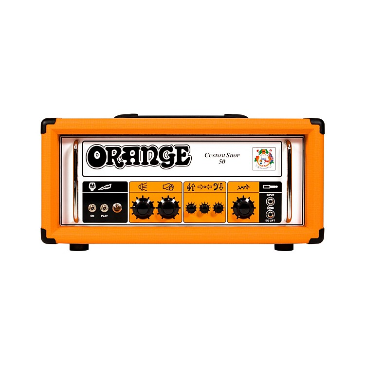 Orange Amplifiers CS50 Custom Shop 50W Tube Guitar Head Orange