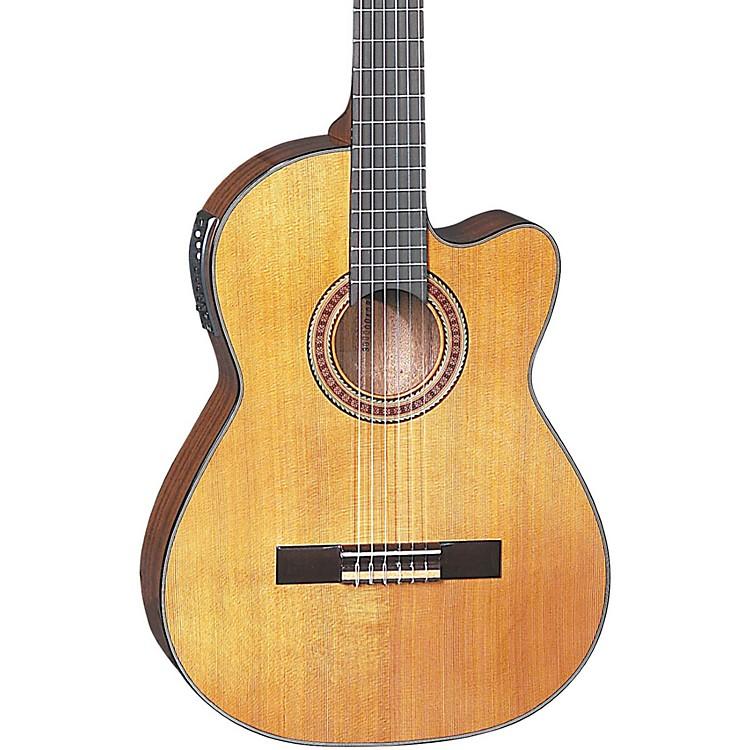 DeanCSCM Espana Solid Top Cutaway Acoustic-Electric GuitarNatural