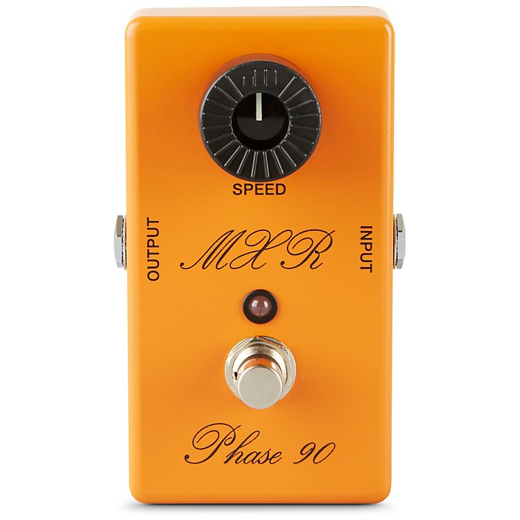 MXR Custom ShopCSP-101CL Script Logo Phase 90 with LED Guitar Effects Pedal