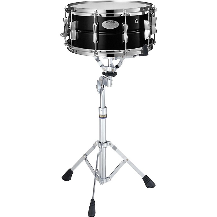Yamaha CSS1465 Concert Steel Snare Drum with SS745A Stand