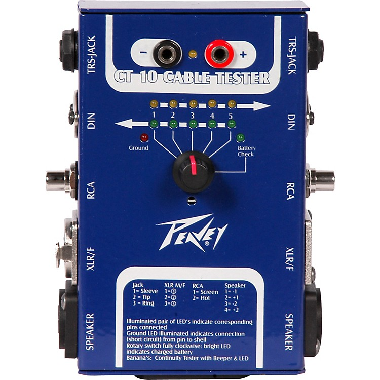 PeaveyCT-10 Cable Tester