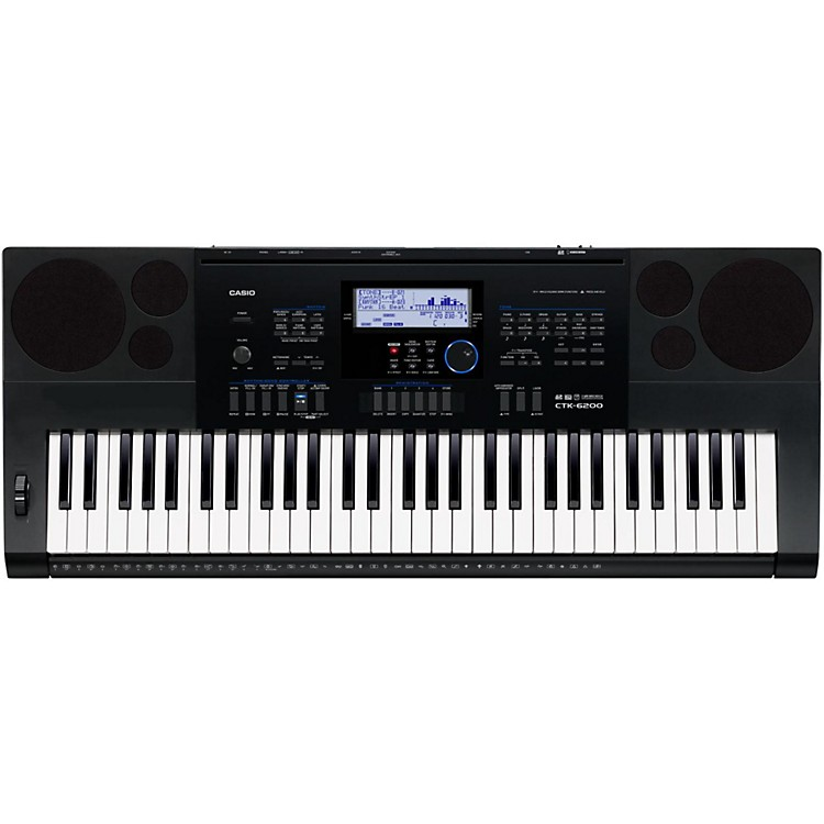 CasioCTK-6200 61-Note Portable Keyboard