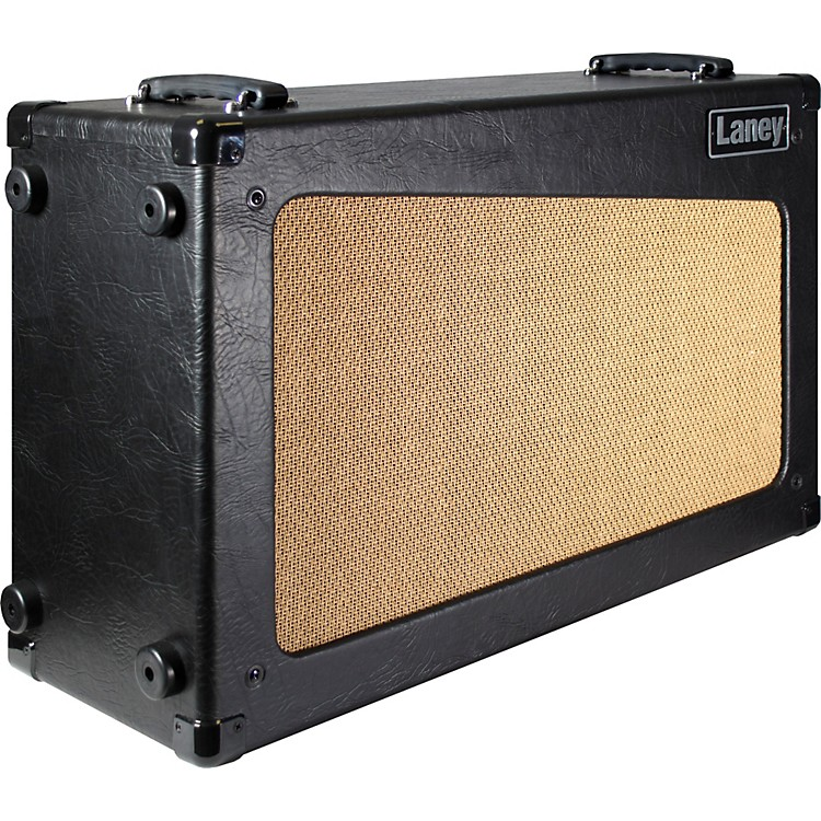 Laney CUB CAB 2x12 Open-Back Guitar Speaker Cabinet Black