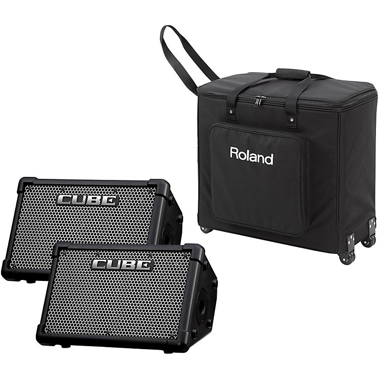 RolandCUBE Street EX PA Pack Stereo Guitar Amplifier
