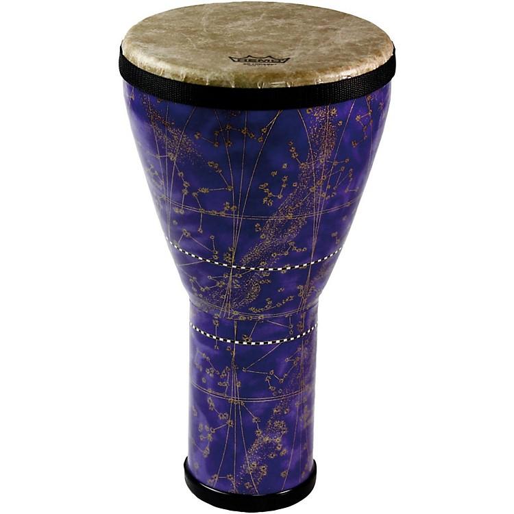 RemoCUSTOM DJEMBE8 x 14 in.Constellation Purple