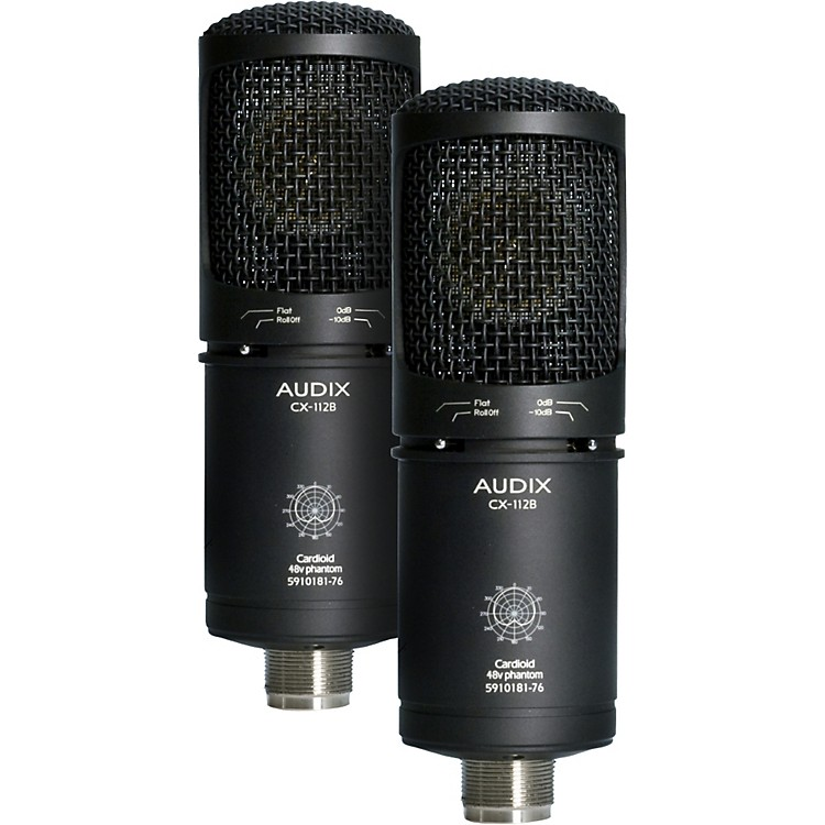 Audix CX112B Large Diaphragm Condenser Matched Pair