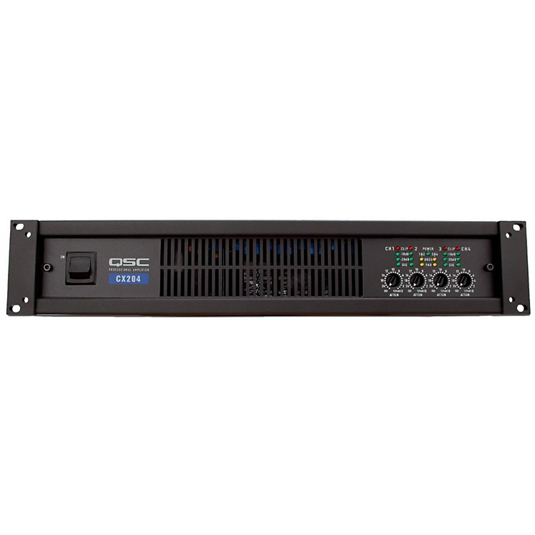 QSCCX204V 4-CH 70V Power Amplifier