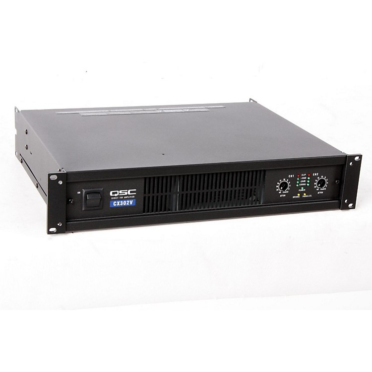 QSC CX302V Stereo 120V Power Amp  888365248547