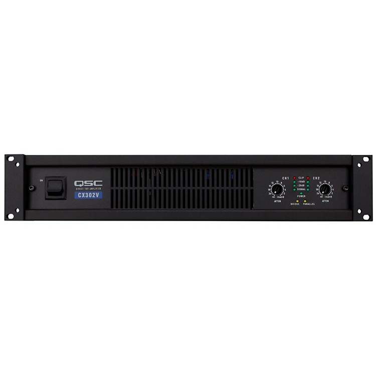 QSC CX302V Stereo 120V Power Amp