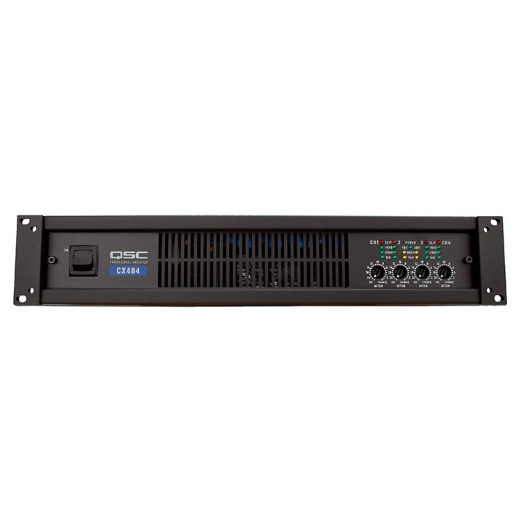 QSCCX404 4-CH Low-Z Power Amplifier