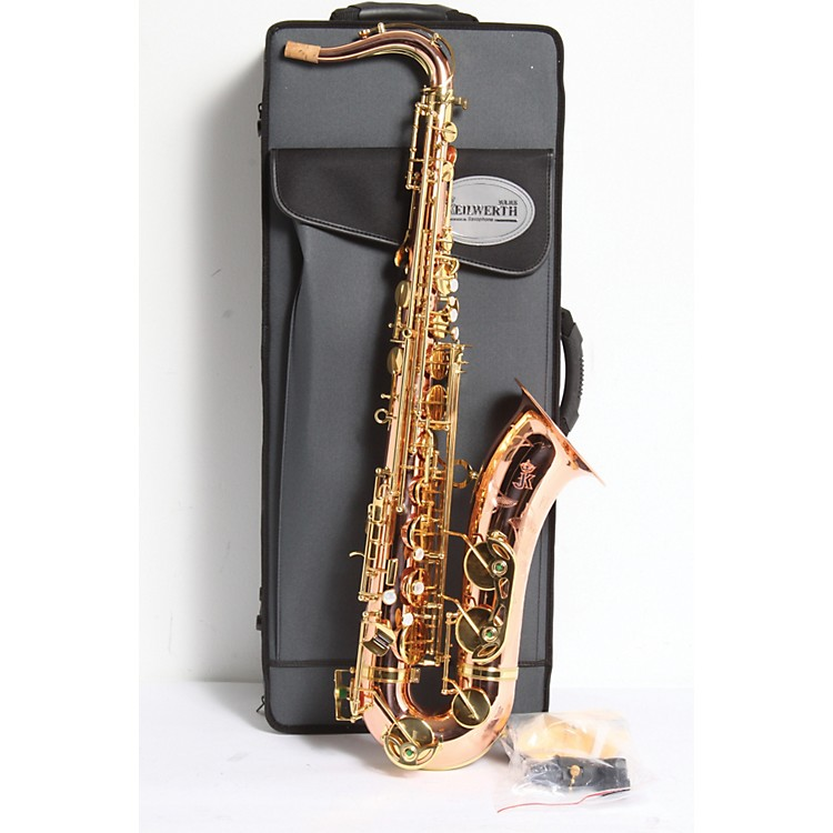 Keilwerth CX90 Prestige Tenor Saxophone Copper Body with Clear Lacquer Finish 886830071621