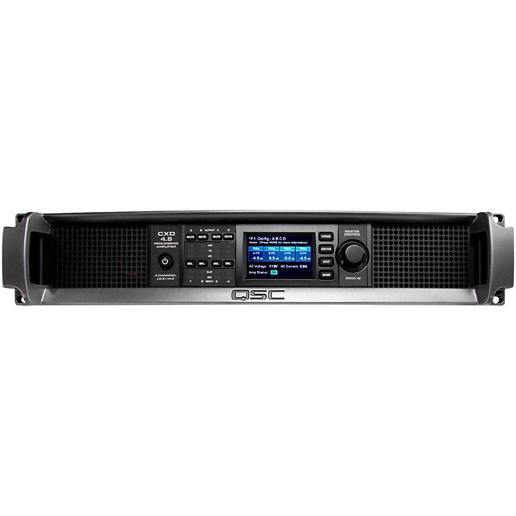 QSCCXD4.5 Multi Channel DSP Amplifier