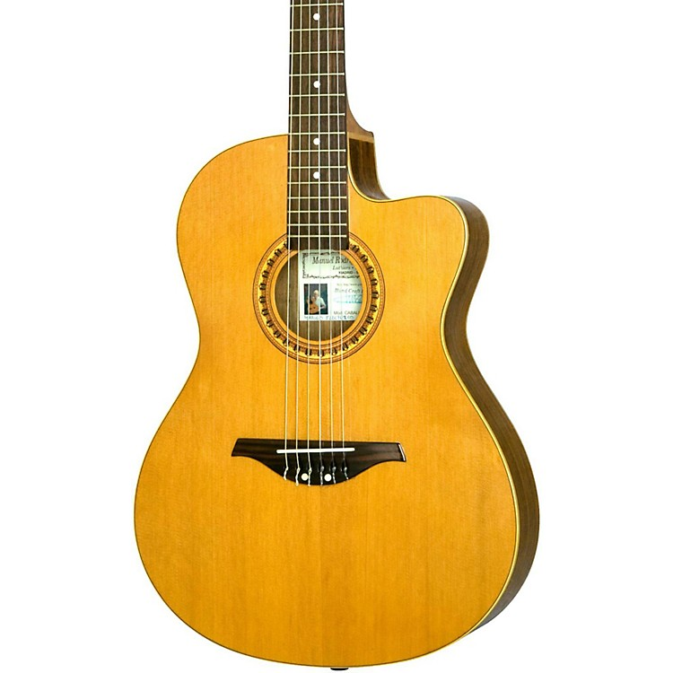 Manuel Rodriguez Caballero 10 Cutaway Nylon String Acoustic-Electric Guitar Natural