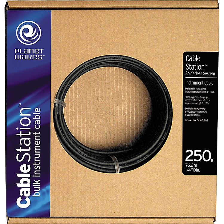 D'Addario Planet Waves Cable Station 250' Bulk Instrument Cable