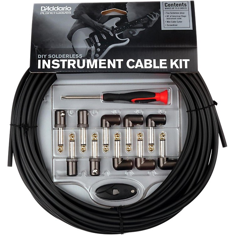 Planet Waves Cable Station Custom Instrument Cable Kit