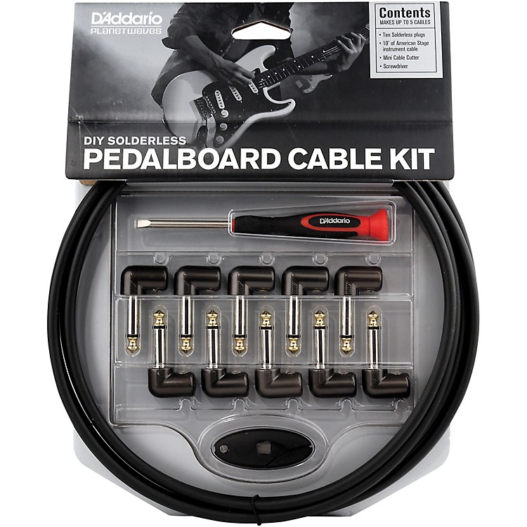 D'Addario Planet Waves Cable Station Pedalboard Cable Kit