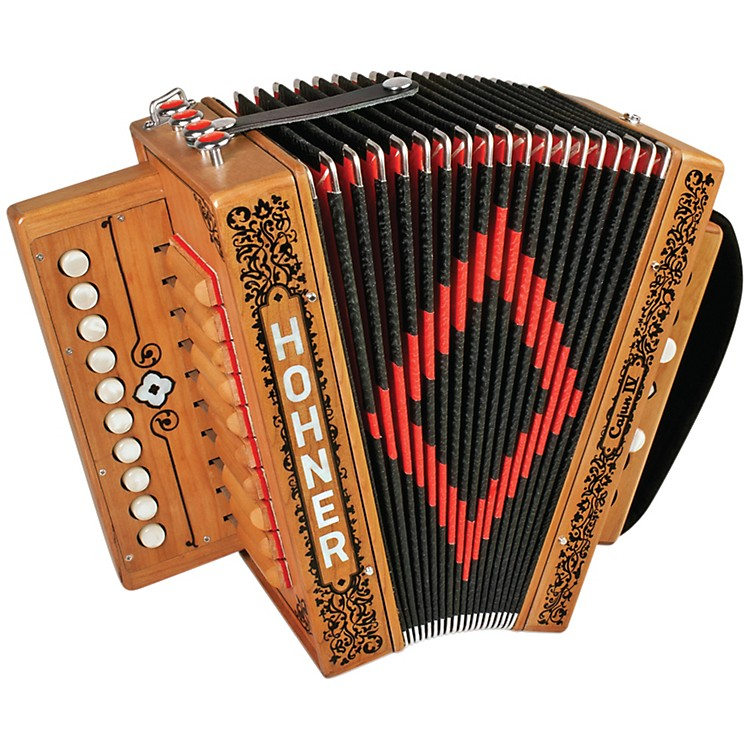 Hohner Cajun IV Accordion Key of C