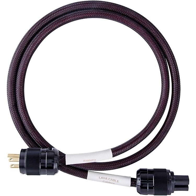 LavaCaldera Power Cord w/ Wattgate IEC320/Straight Blade6 ft.Black