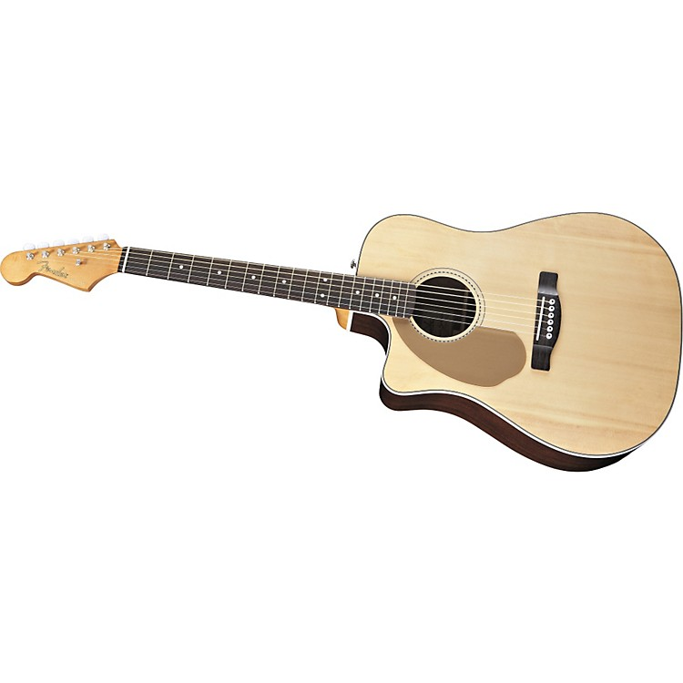 FenderCalifornia Series Sonoran SCE Left-Handed Dreadnought Cutaway Acoustic-Electric Guitar