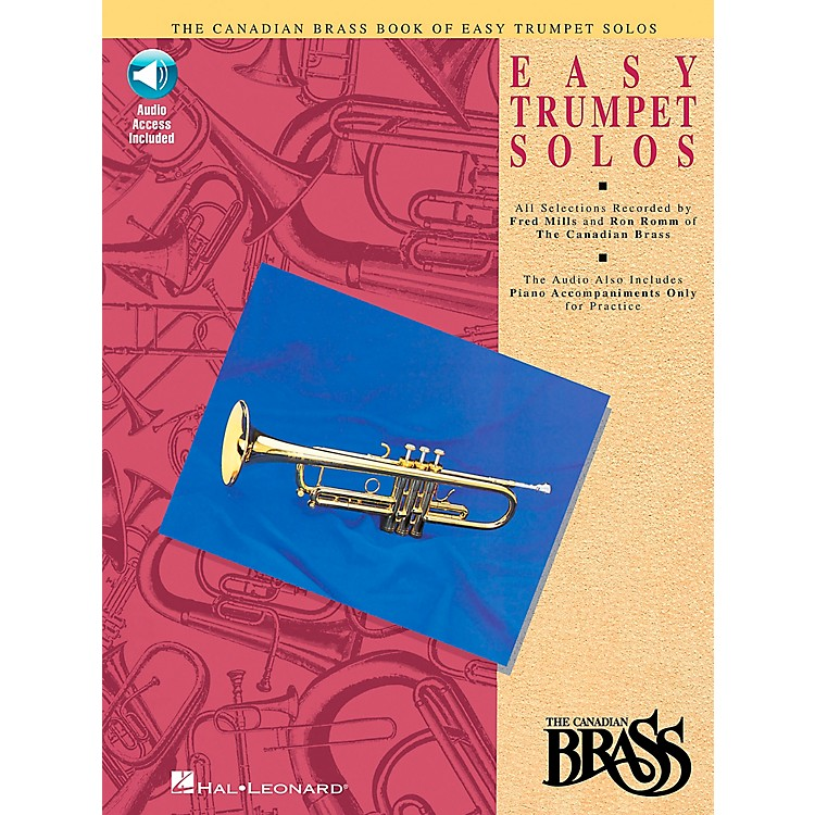 Hal Leonard Canadian Brass Easy Trumpet Book/CD