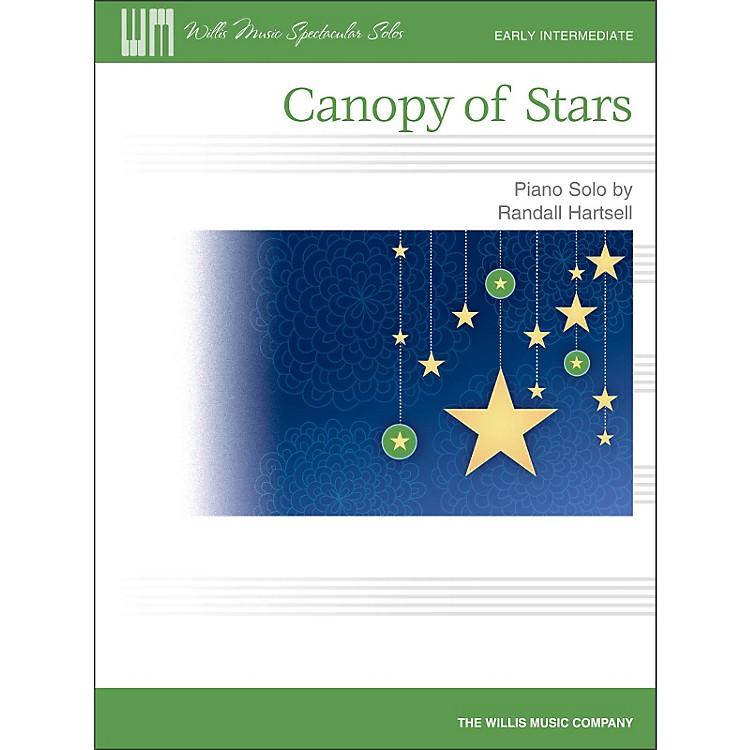 Willis MusicCanopy Of Stars - Early Intermediate Piano Solo Sheet