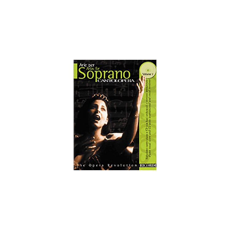 Hal LeonardCantolopera Arias for Soprano - Volume 1 Book/CD
