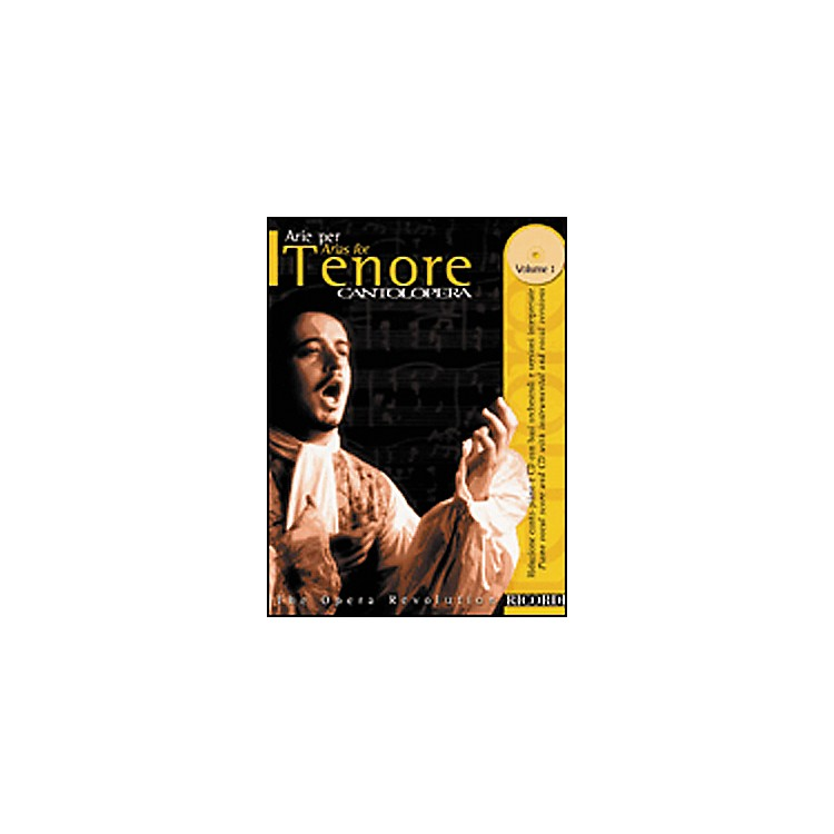 Hal Leonard Cantolopera Arias for Tenor - Volume 1 Book/CD