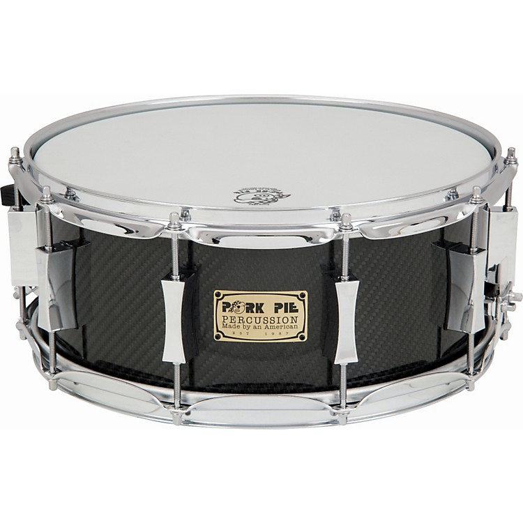 Pork Pie Carbon Fiber Snare Drum