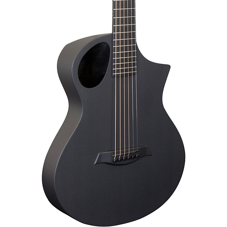 Composite Acoustics Cargo Carbon Fiber Acoustic Guitar Raw Carbon Finish