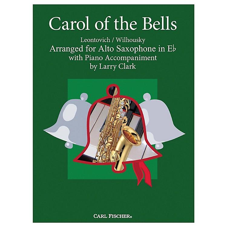 Carl FischerCarol Of The Bells - Alto Sax With Piano Accompaniment