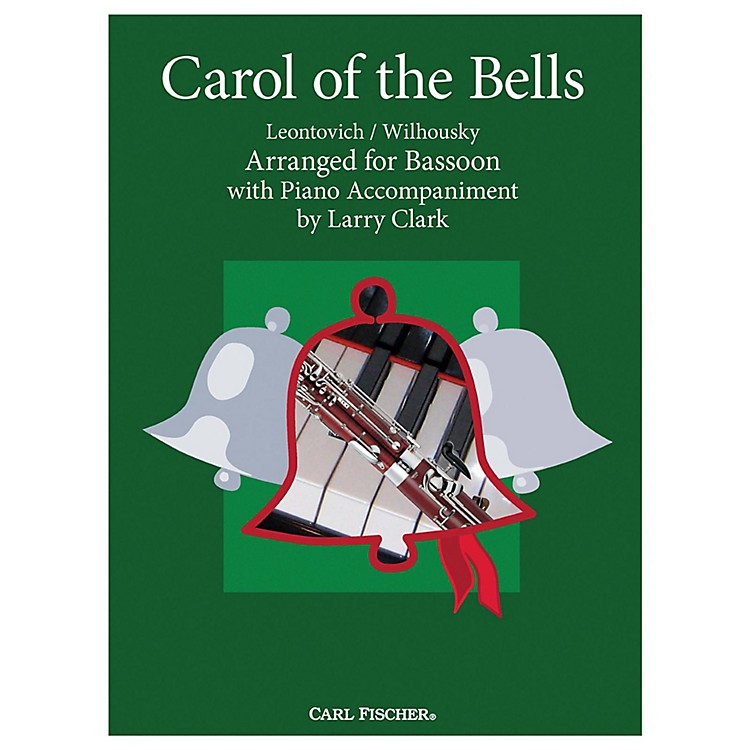 Carl Fischer Carol Of The Bells - Bassoon With Piano Accompaniment
