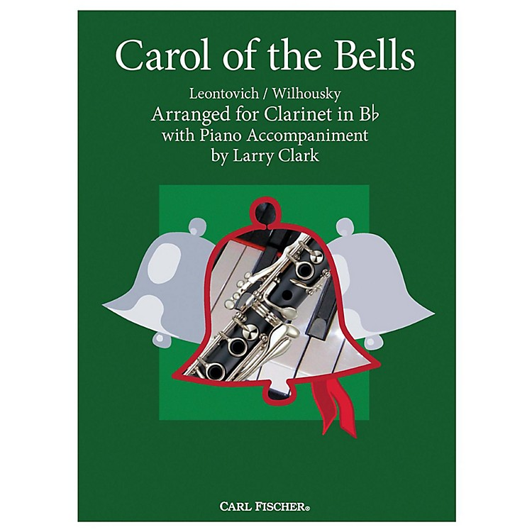 Carl FischerCarol Of The Bells - Clarinet With Piano Accompaniment