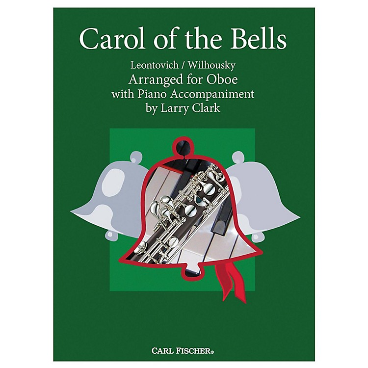 Carl Fischer Carol Of The Bells - Oboe With Piano Accompaniment